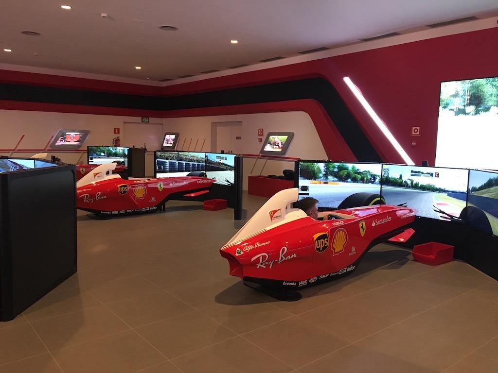 Race Simulators Ferrari Land Spain