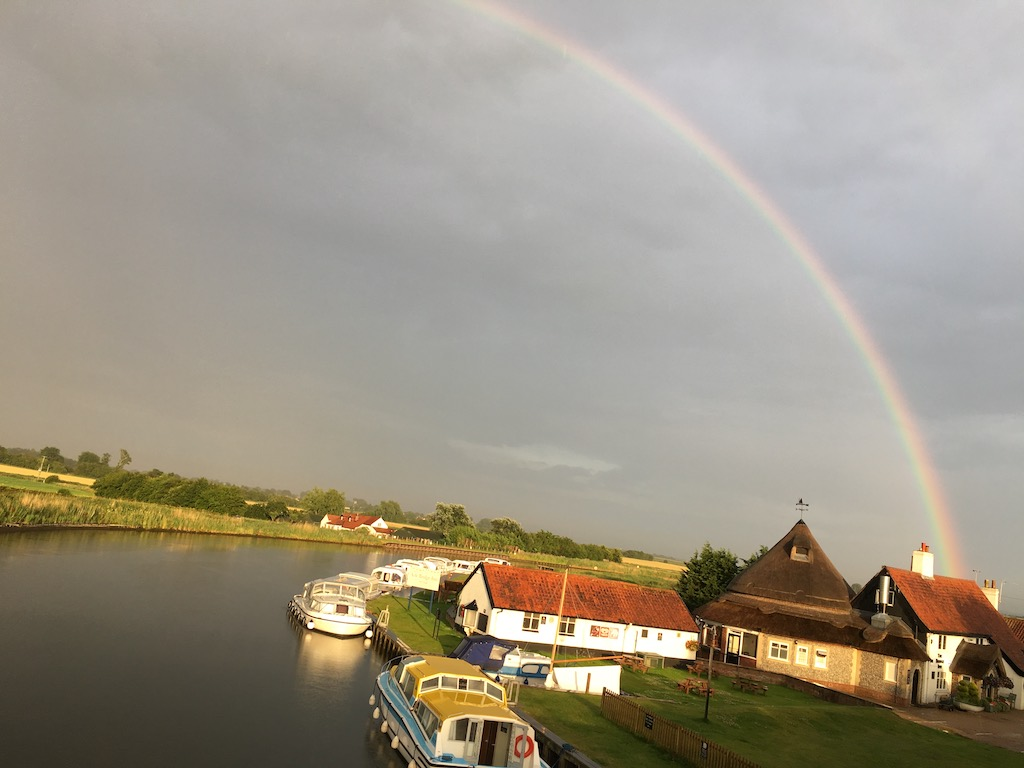 Acle Bridge Rainbow