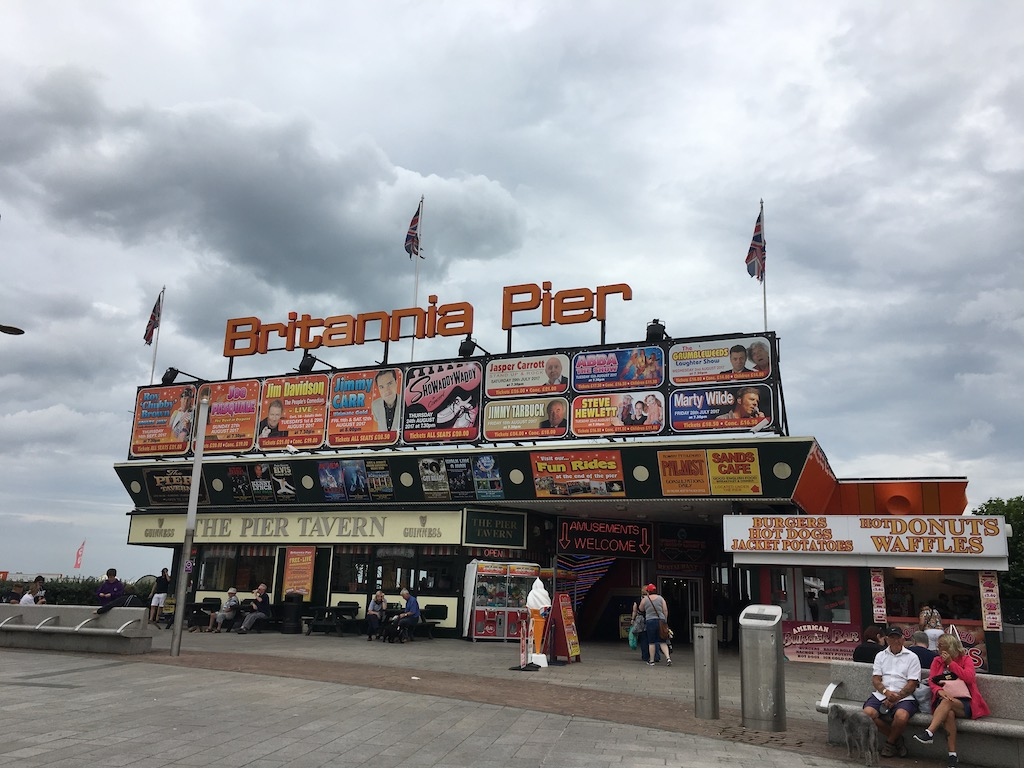 Britannia Pier Great Yarmouth