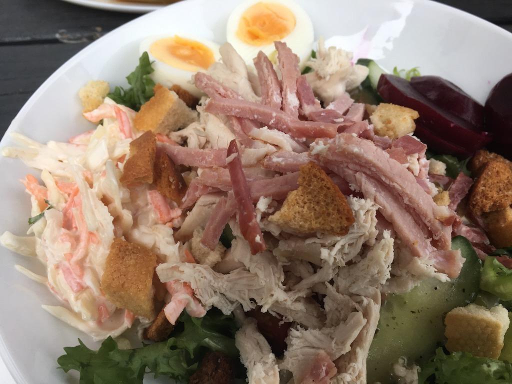Maltsters Chicken & Bacon Salad