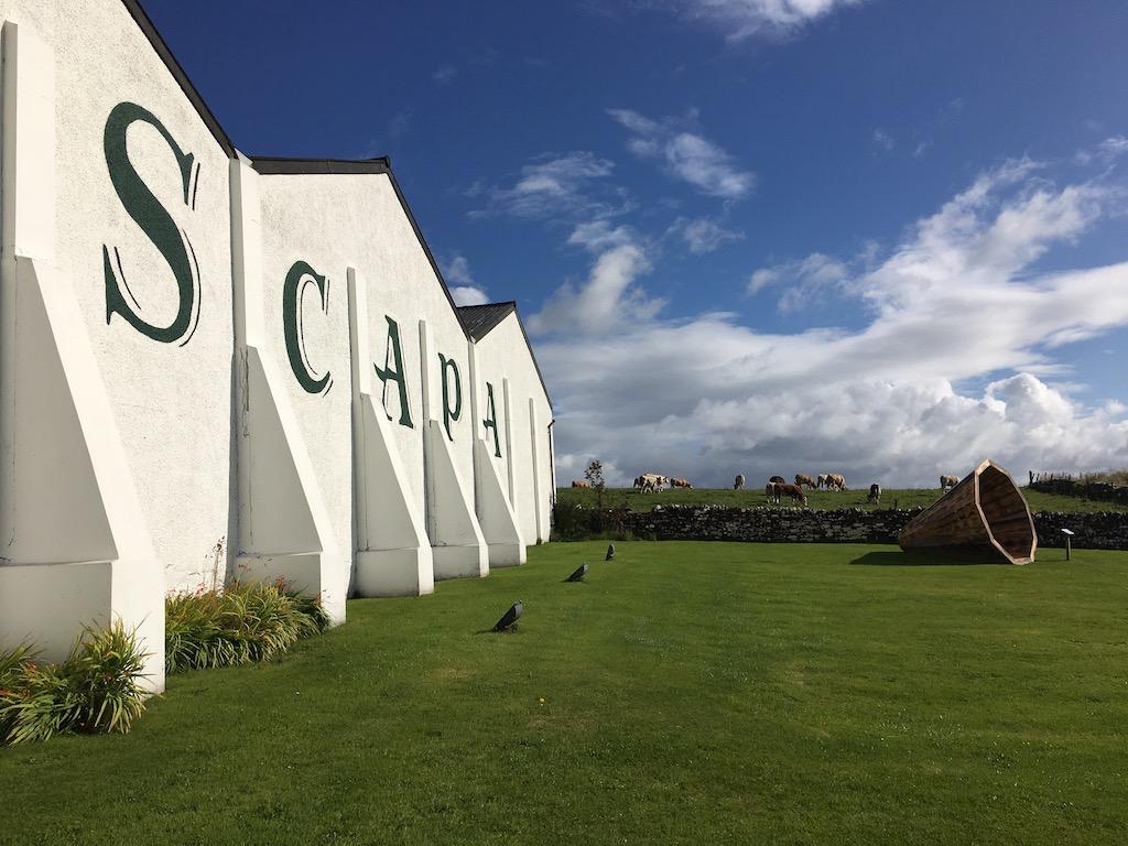 Scapa Distillery & Beasties
