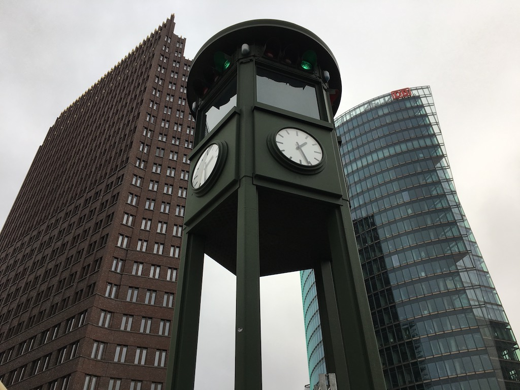 Traffic Signal at Potsdamer Platz