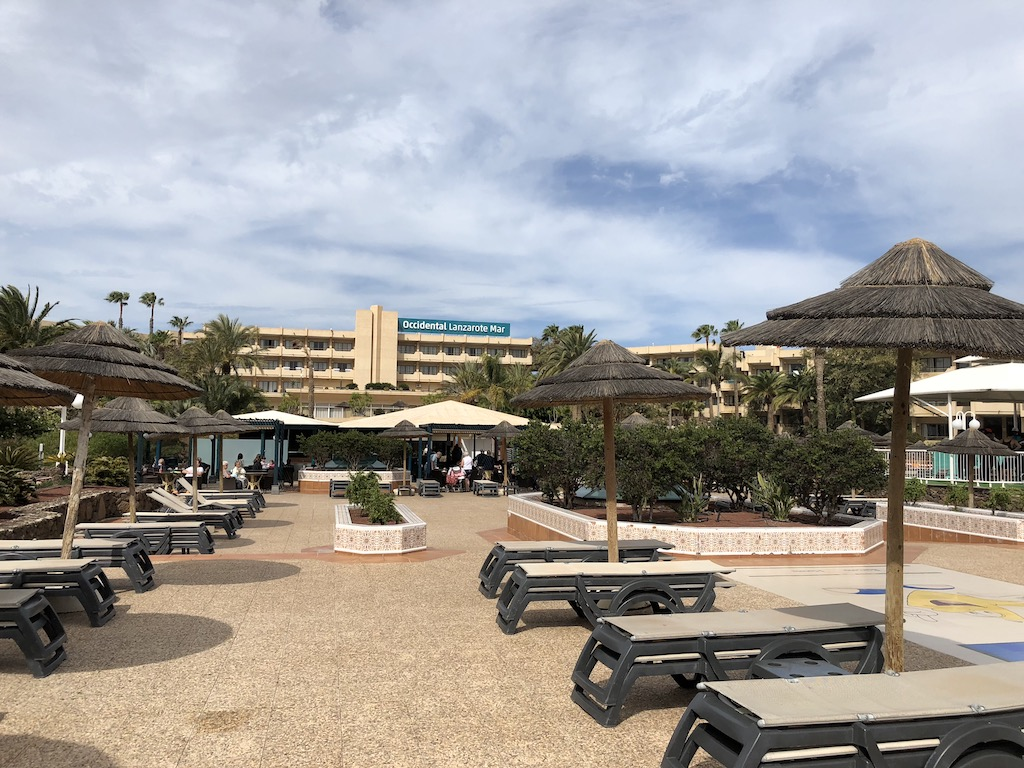 Occidental Lanzarote Mar Sun Terrace