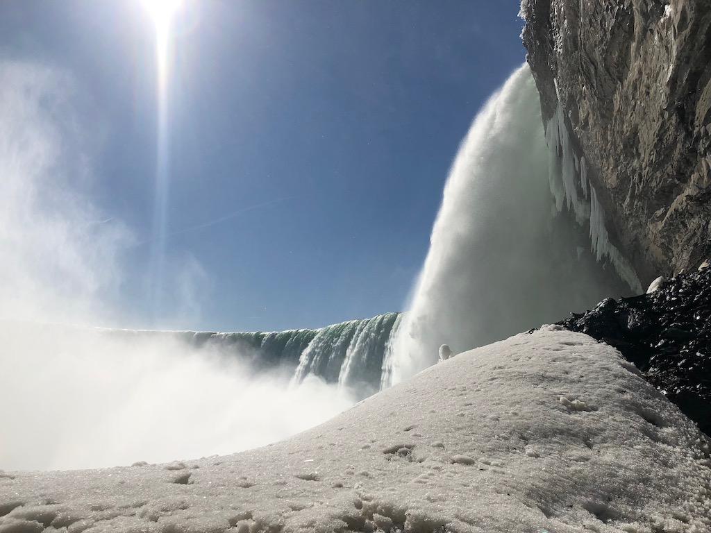Journey Behind The Falls Niagara