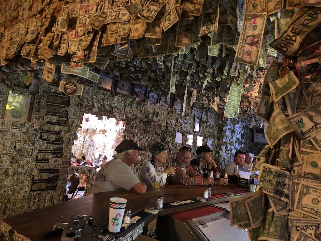 Oatman Hotel Dollars Saloon