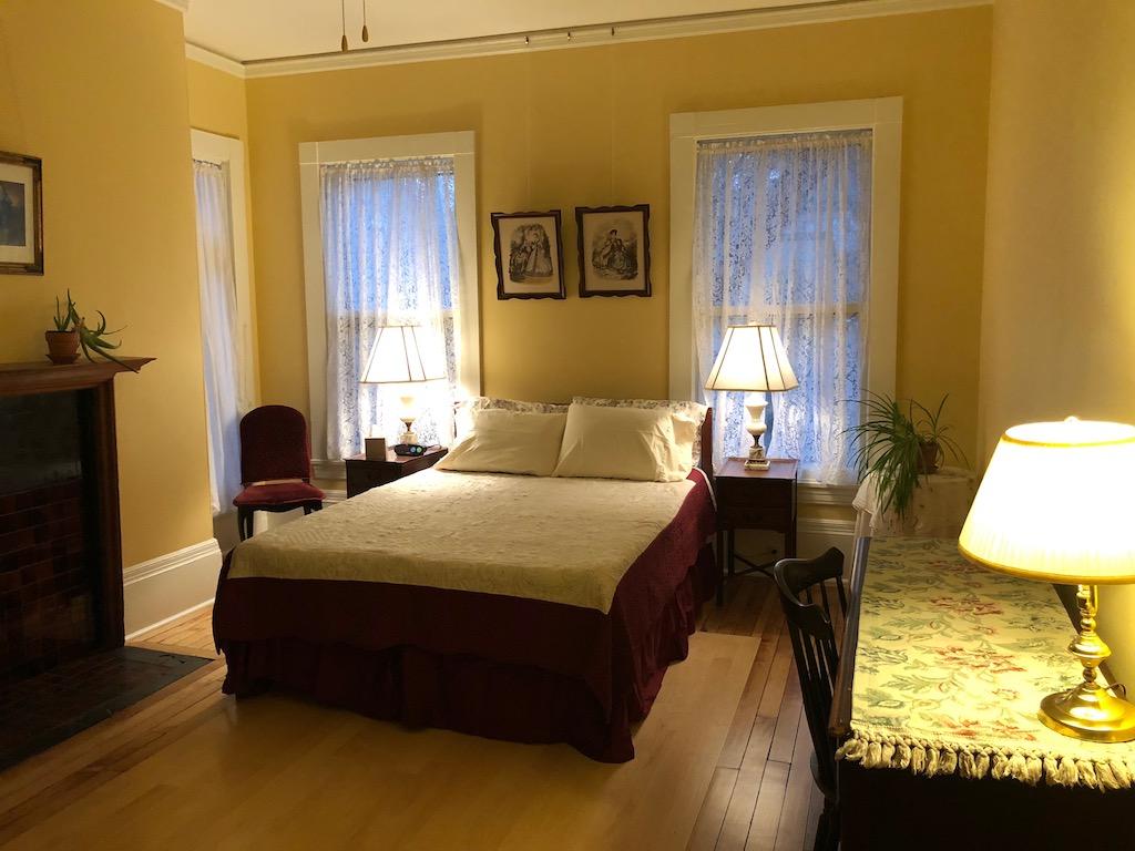 Our bedroom Lehmann House