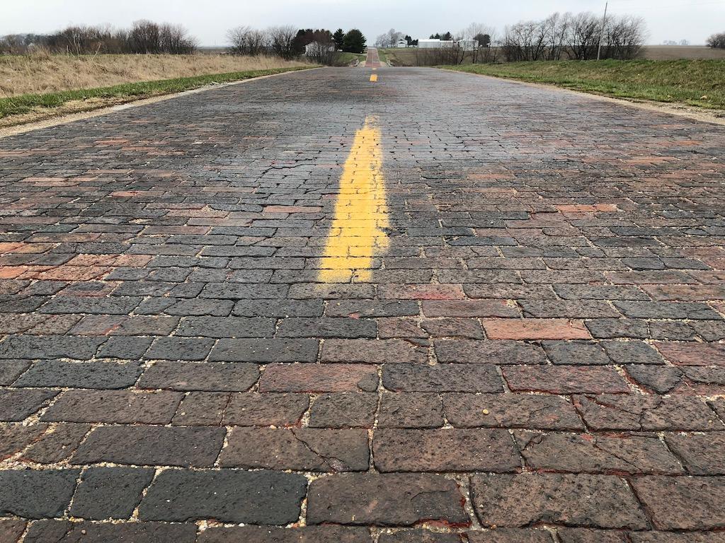 Route 66 Brick Road