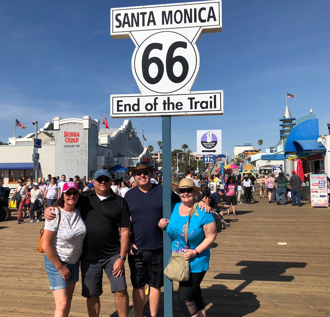 Route 66 Santa Monica Pier