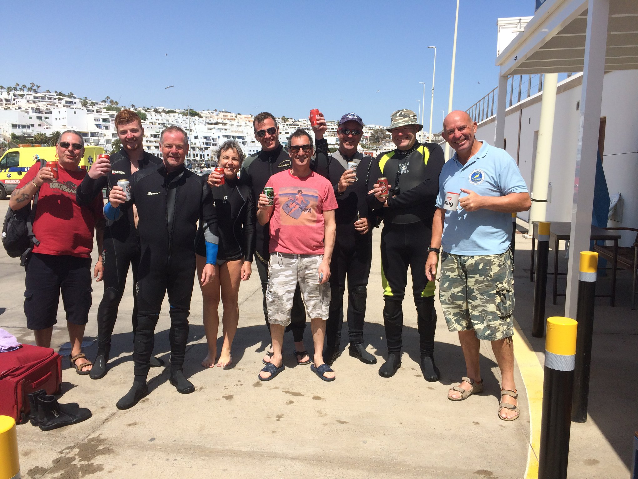 BSAC North East Divers with Island Watersports