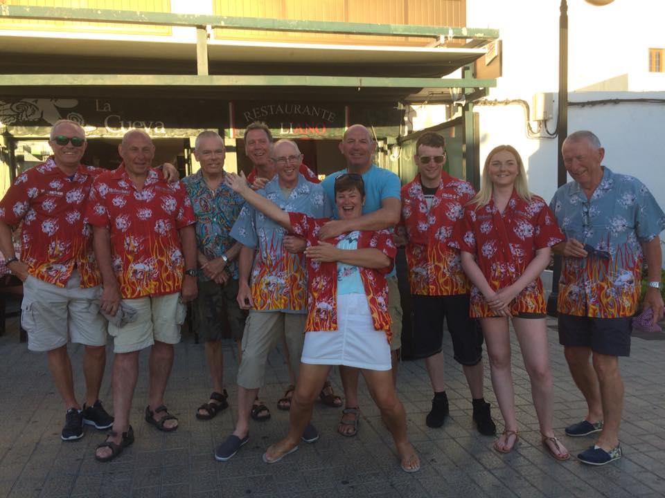 Bad Taste Shirt Night in Lanzarote Diving Centre Boldon