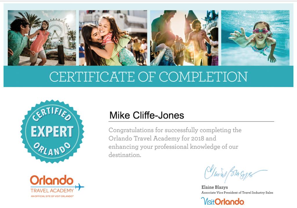 Mike Visit Orlando Expert