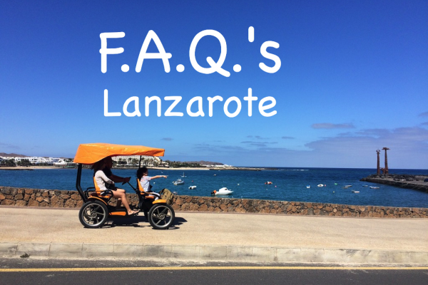 FAQ's about Lanzarote