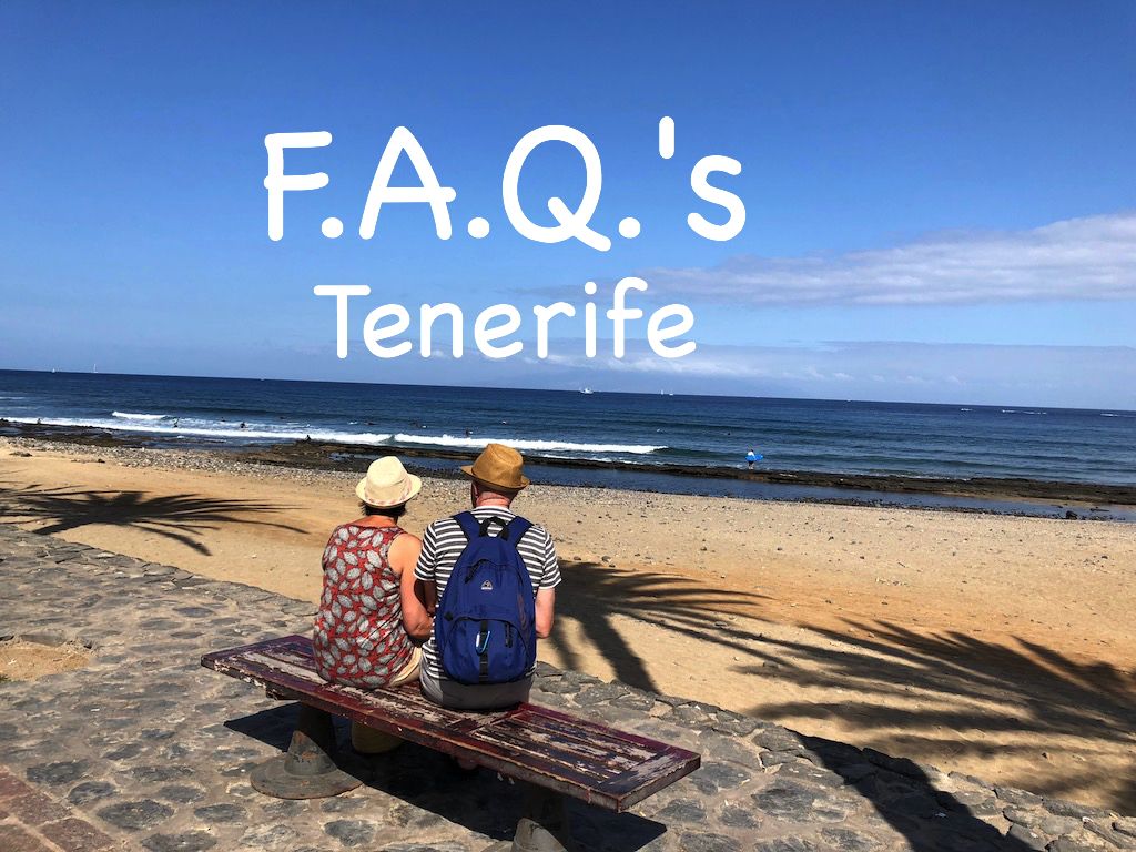 FAQ's about Tenerife