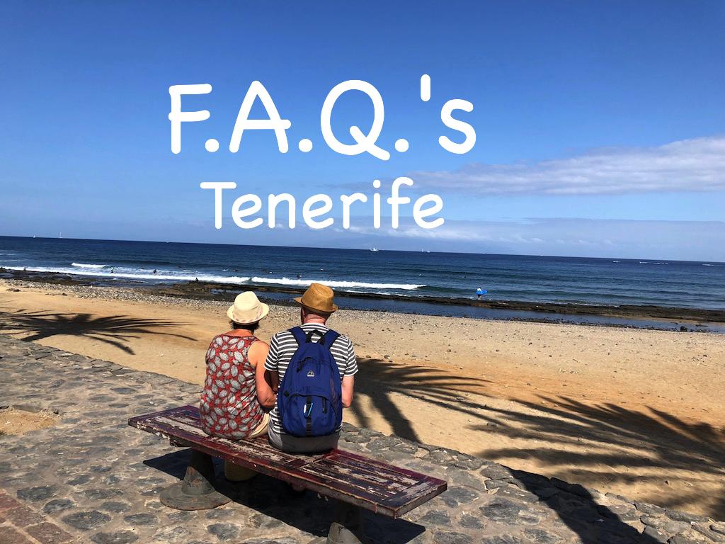 FAQ's about Tenerife