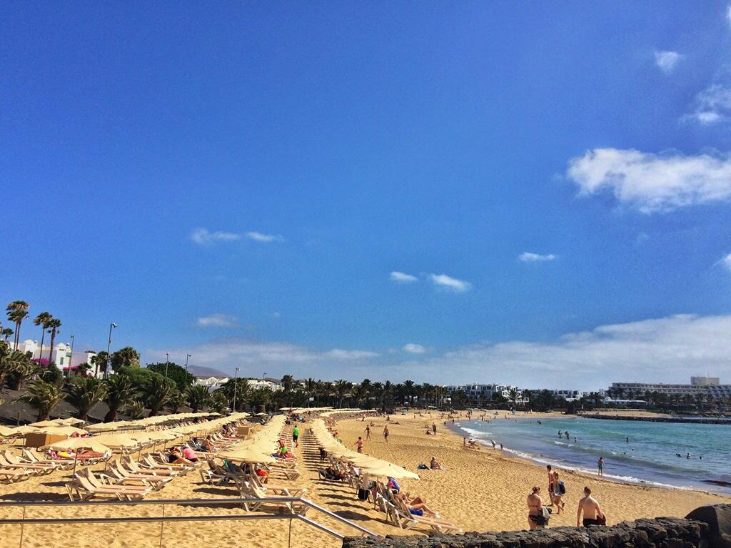 Playa Las Cucharas beach