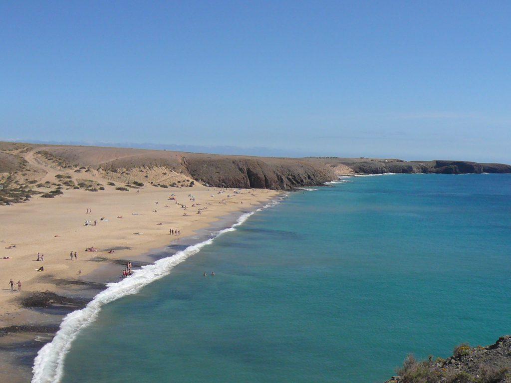 Playa Mujeres Beach Playa Blanca