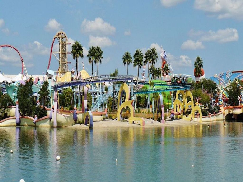Orlando's amusement parks - Universal's Islands of Adventure