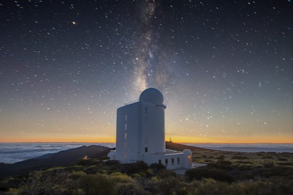Stargazing in the Canary Islands
