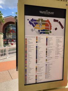 Orlando Vineland Premium Outlets map