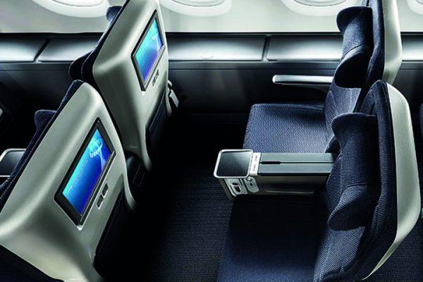 British Airways World Traveller Plus