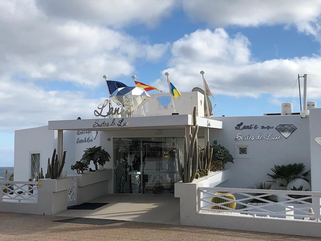 Lani's Suites Hotel Entrance