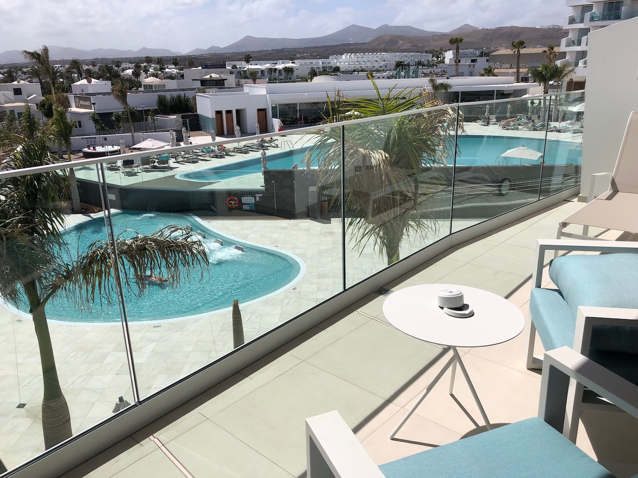 Lava Beach Hotel Junior Suite Pool View Balcony