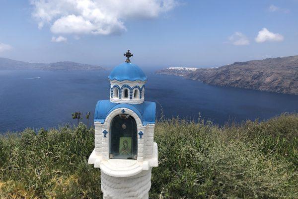 Caldera Hike Santorini