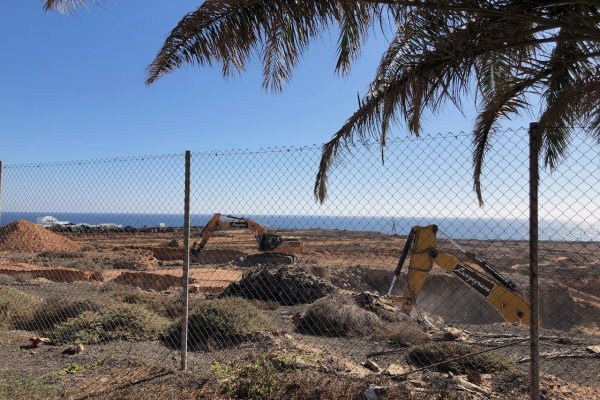 Building work Costa Teguise