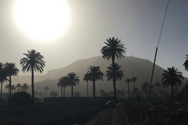 Calima Canary Islands