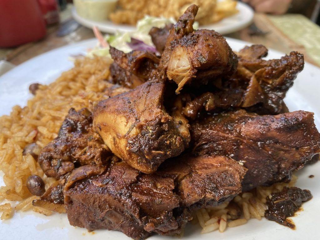 Jerk Chicken in Grand Bahamas