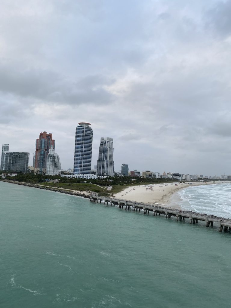 Cruising out of Miami